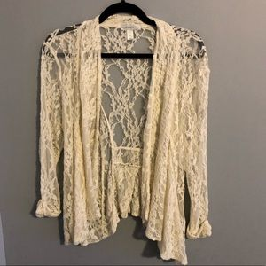DRESS BARN | Lace cardigan